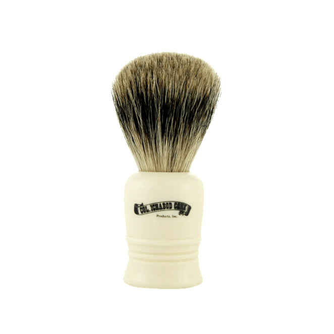 Colonel Conk Shave Brush- Best Badger- Short Cream Handle