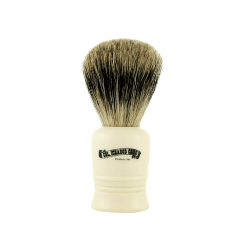 Colonel Conk Shave Brush - Best Badger - Short Cream Handle
