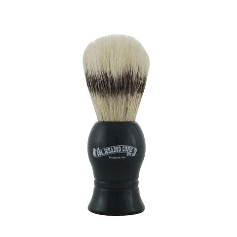 Colonel Conk Shave Brush - Boar Bristle - Black Handle