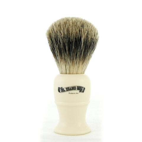 Colonel Conk Shave Brush - Best Badger - Cream Handle