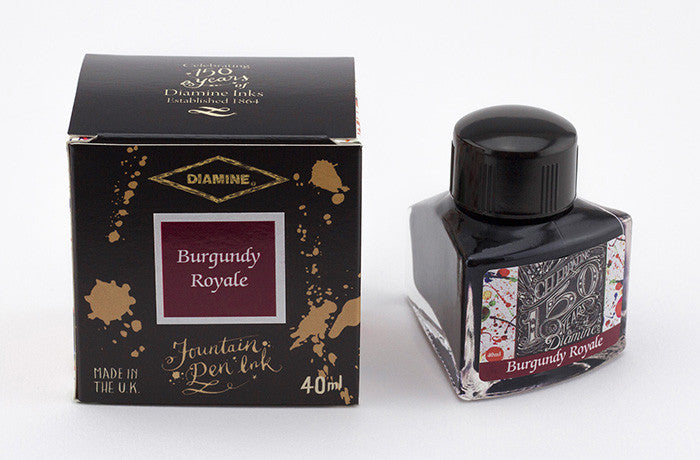 Diamine 150th Burgundy Royale