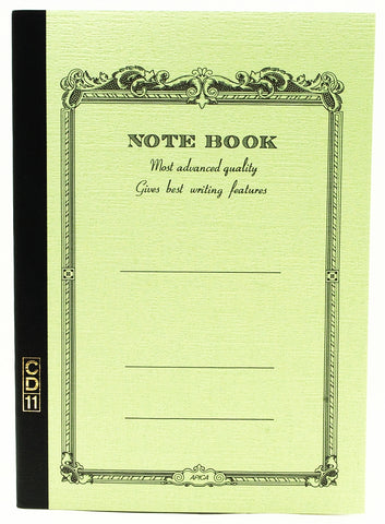 APICA A5 C.D. Notebook- Green