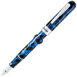 Conklin Mark Twain Crescent Filler Vintage Blue Fountain