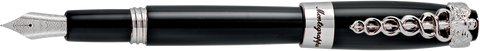 Montegrappa Fortuna Caduceus Black Fountain