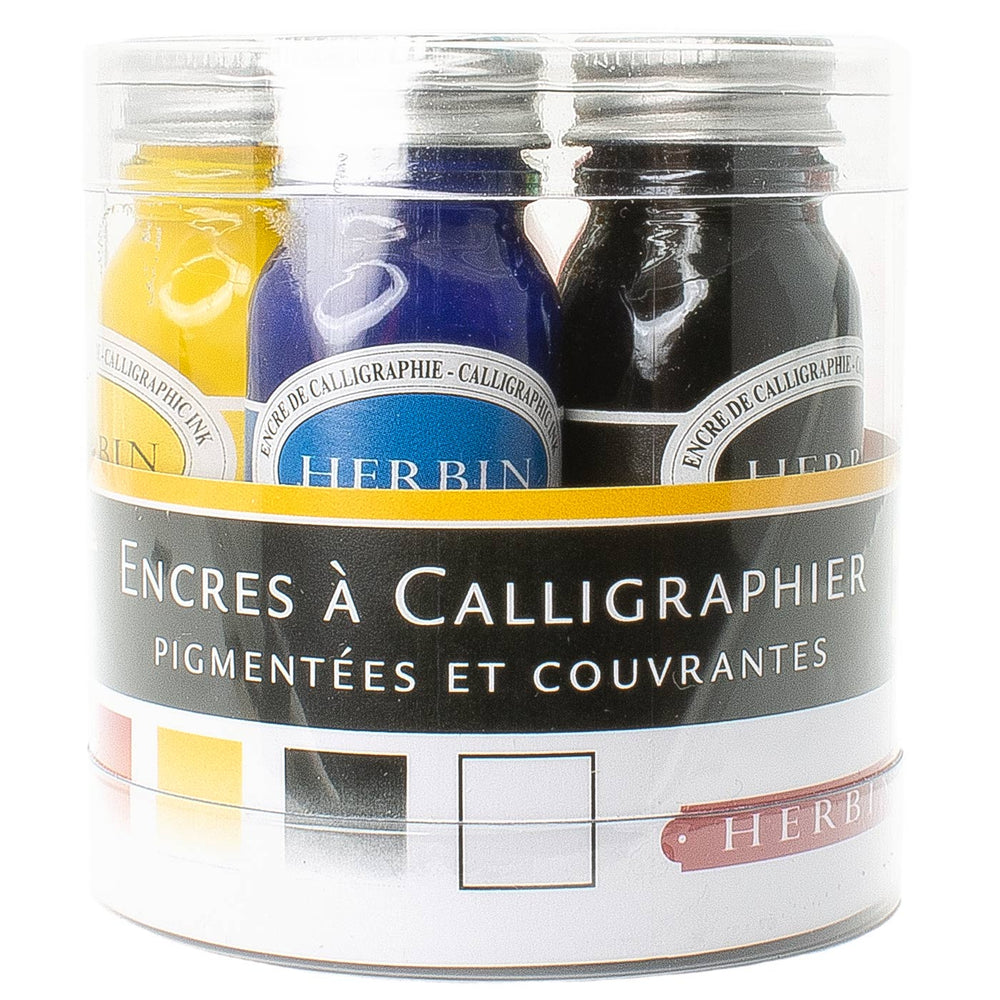 J Herbin Calligraphy Ink 10ml Assortment (5-Pack)
