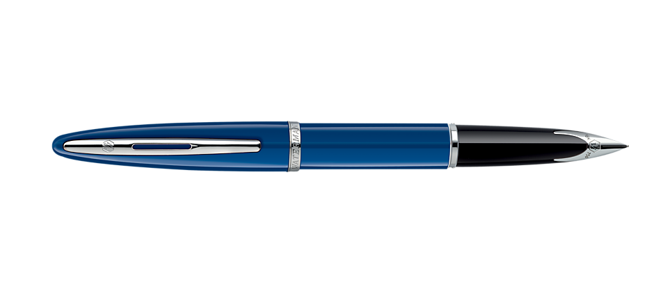 Waterman Carene Blue with Silver Trim Fountain