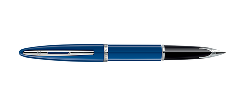 Waterman Carene Blue with Silver Trim Ftn
