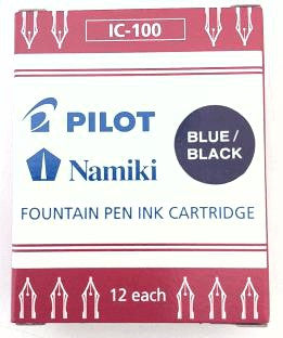 Pilot Blue/Black Cartridge