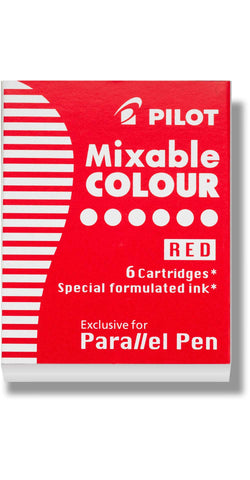 Pilot Mixable Cartridges- Red