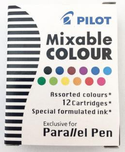 Pilot Mixable Cartridge Assorted