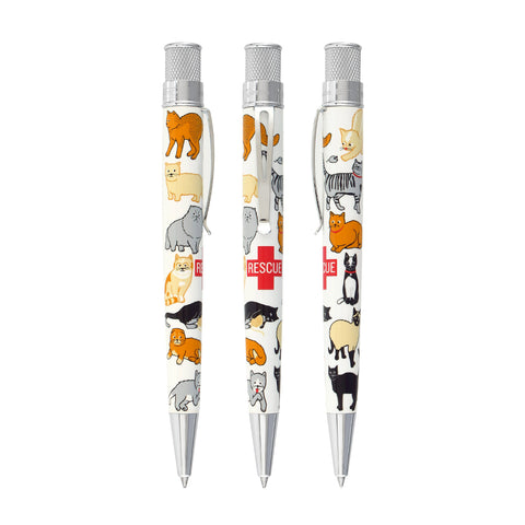 "Retro 1951 ""Rescue"" Cat Rescue Ballpoint Edition 2"