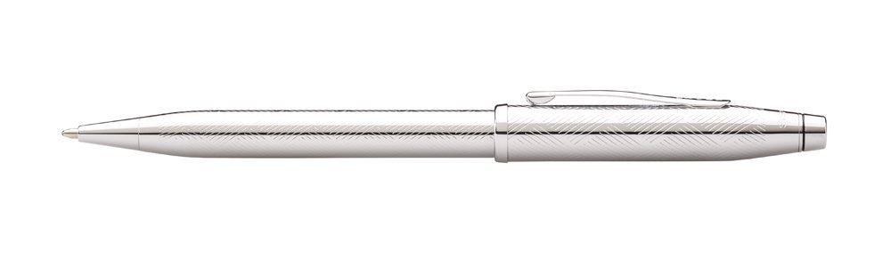 Cross Century II Chrome Herringbone Ballpoint