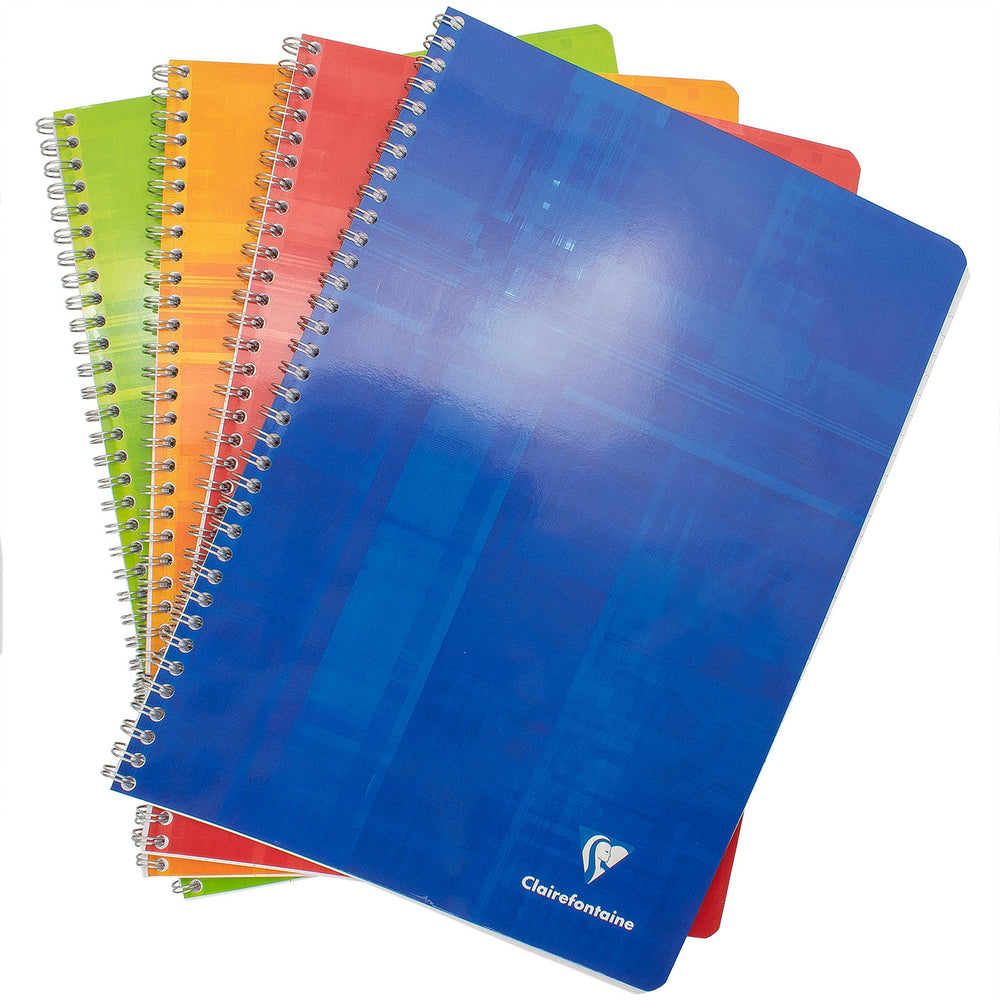 Clairefontaine Classics A4 Side Wirebound Notebook- Lined (50 Sheets)