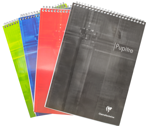 Clairefontaine Classics A4 Top Wirebound Notepad- Lined