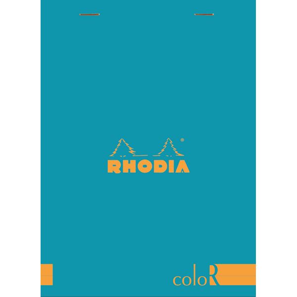 Rhodia ColoR #16 Turquoise