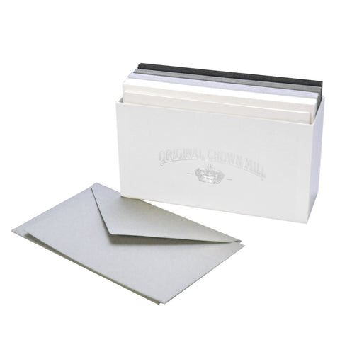Original Crown Mill Color Vellum Note Card Assortments