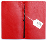 Curnow Bookbinding Red Leather Backpack Journal Cover