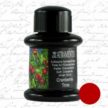 DeAtramentis Fragrance Cranberries, Red