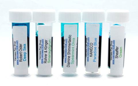 Turquoise Ink Sample Set