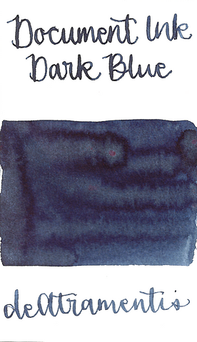DeAtramentis Document Ink Dark Blue