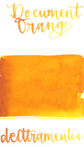 DeAtramentis Document Ink Orange