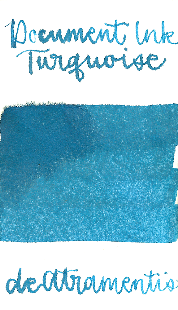 DeAtramentis Document Ink Turquoise