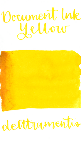DeAtramentis Document Ink Yellow