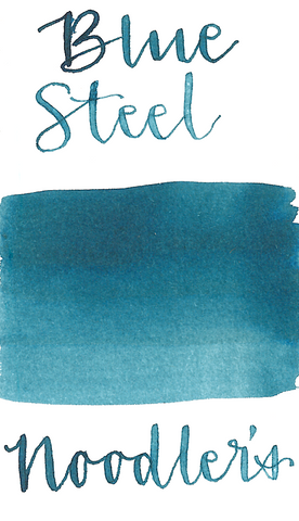 Noodler's  Dromgoole's of Houston Blue Steel