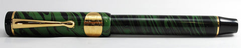 Bexley Ebonite Green Smoke/Olive Mottled