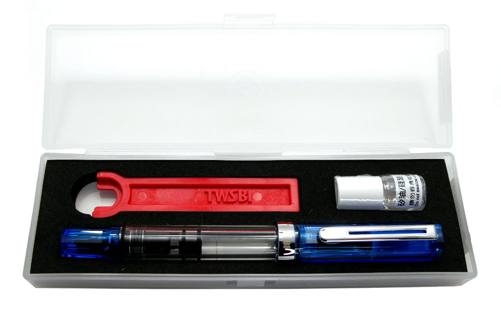 TWSBI ECO Transparent Blue Fountain