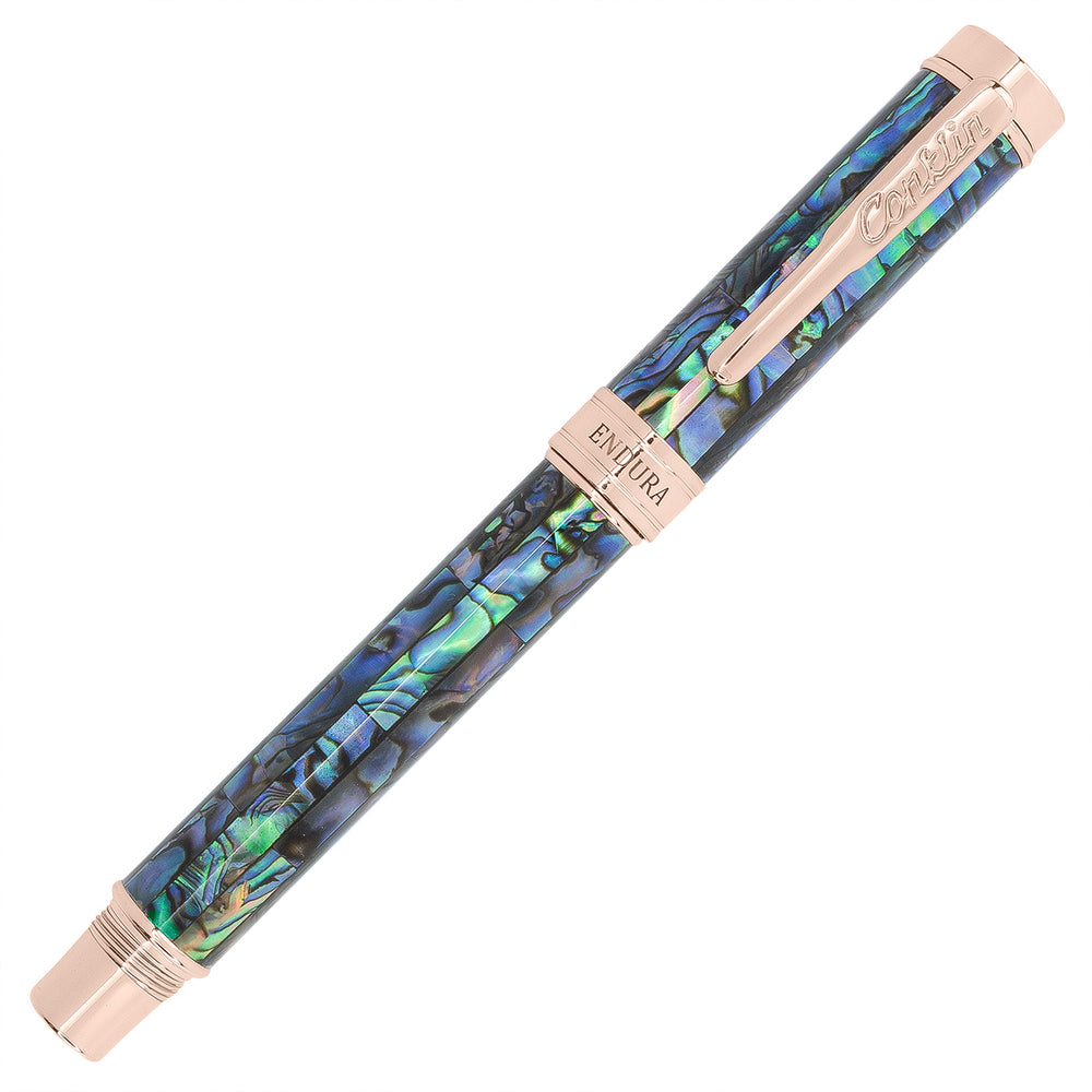 Conklin Endura Abalone with Rose Gold Trim Fountain Limited Edition
