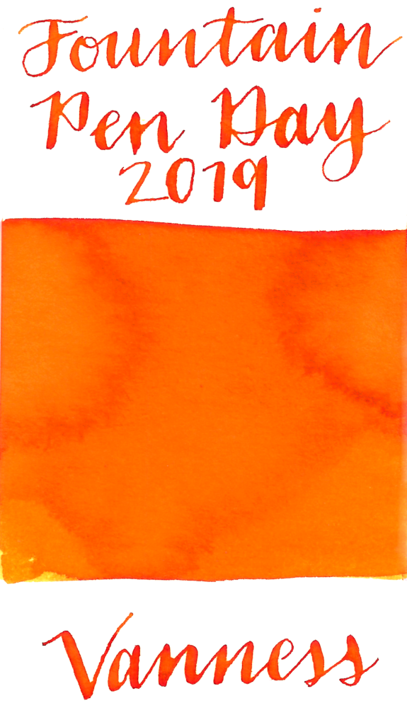 Vanness Fountain Pen Day 2019 Ink