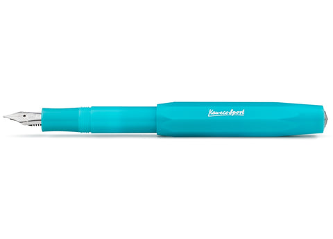 Kaweco   Frosted Sport Light Blueberry Fountain