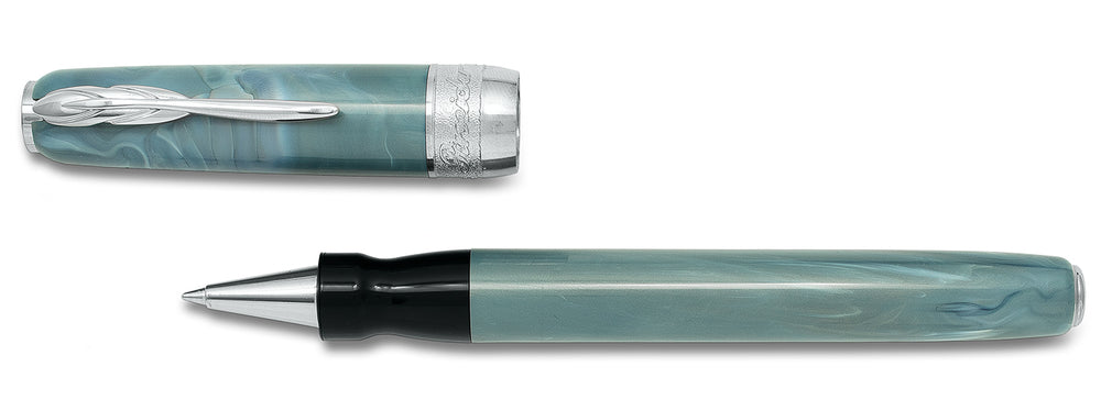 Pineider Full Metal Jacket Rollerball- Ash Grey