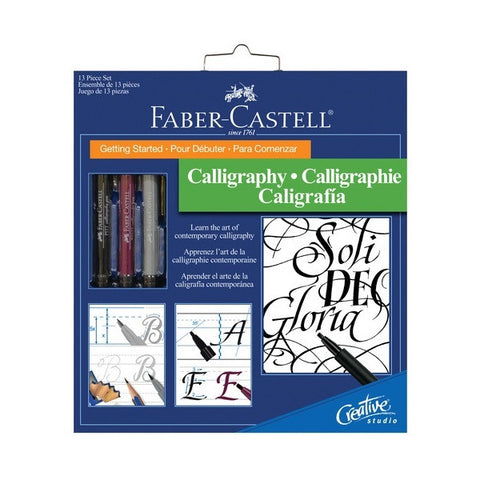 "Faber Castell ""Getting Started"" Calligraphy Set"