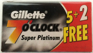 Gillette 7 o'clock Super Platinum Blades