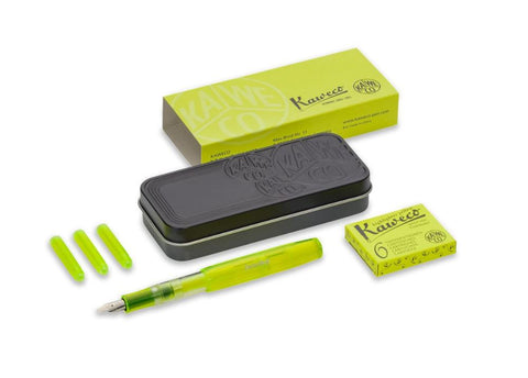 Kaweco  Ice Sport Glow Yellow Fountain