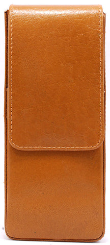 Girologio Hard-Shell 3 Pen Case Tan