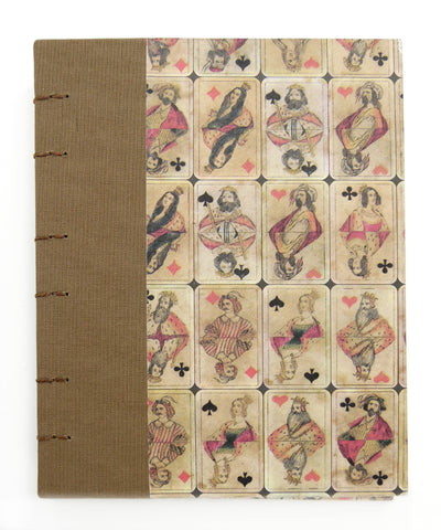 Curnow Bookbinding Royal Flush Hard Cover