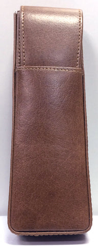 Girologio Hard-Shell 2 Pen Case Tan