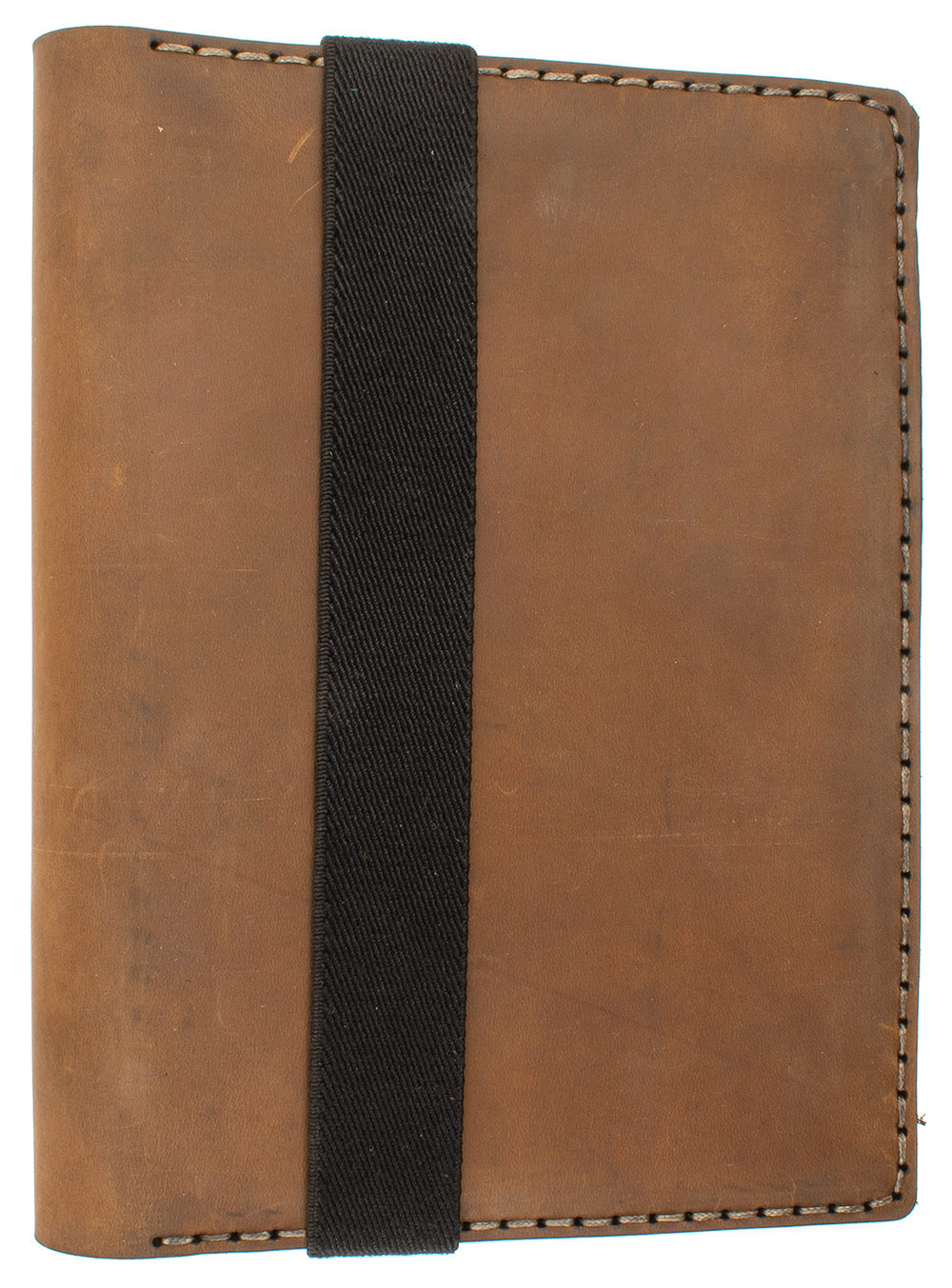 Galen Leather Co. Leather Hobonichi Cousin A5 Planner Cover- Crazy Horse Brown