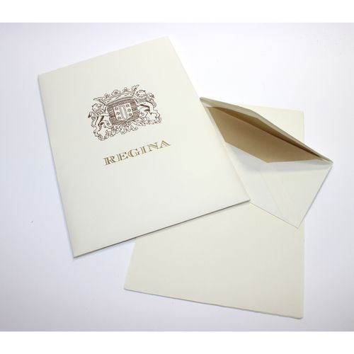 San Lorenzo Regina Portfolio Sheets with Lined Envelopes
