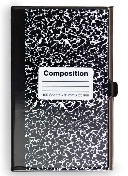 Design Ideas IdentityCase- Composition Notebook