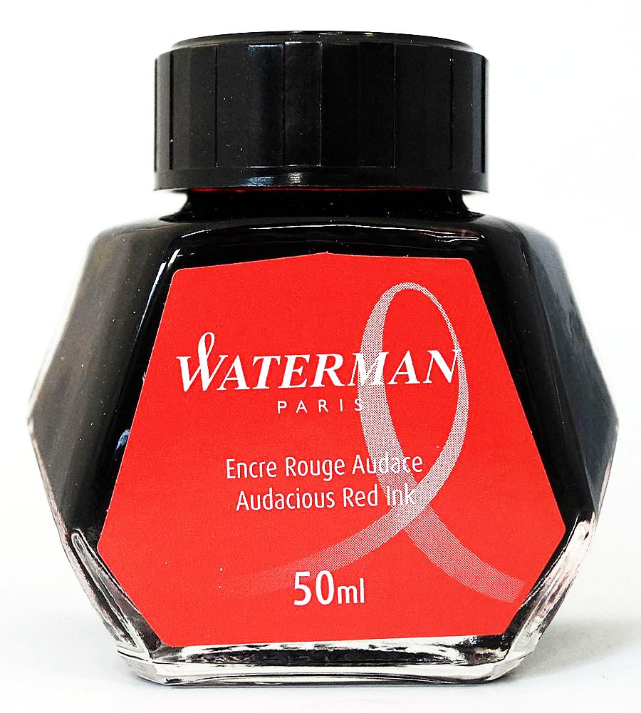 Waterman Audacious Red Ink