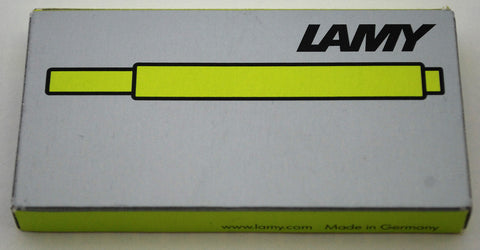 Lamy Ink - Neon Lime Green