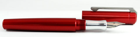 Karas Kustoms Ink Red with Aluminum Section