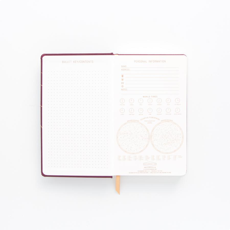 "DesignWorks Cloth Cover Journal- ""Try Viewing From a Different Angle"""