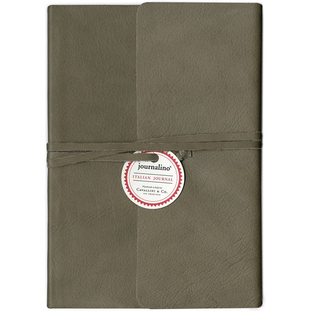 "Cavallini & Co. Grey Journalino Slim 6"" x 8"""