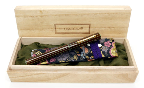 Taccia Kaku-Tate Urushi Money Thin Stripe LE Fountain
