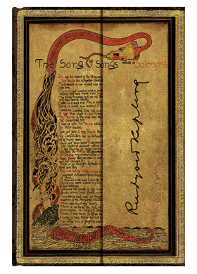 Paperblanks Embellished Manuscripts - Kipling, Song of Songs Mini Wrap